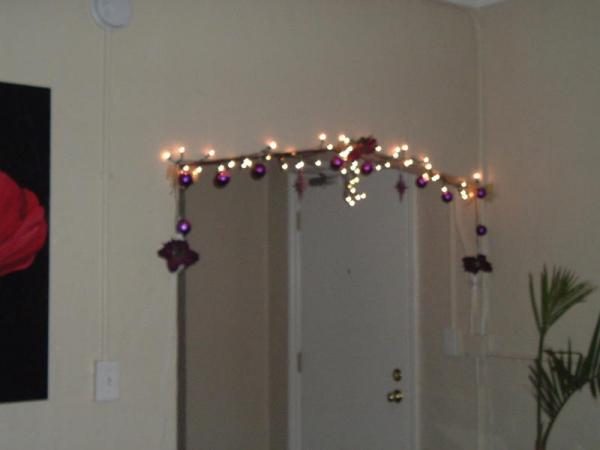 String Lights Around Window : You re Having A Holiday Party!