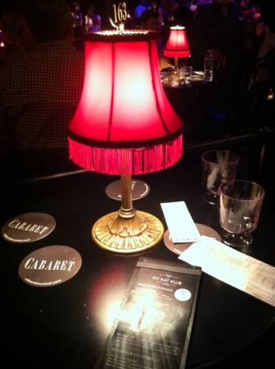 Birthday Celebration At Cabaret - Cabaret table lamps